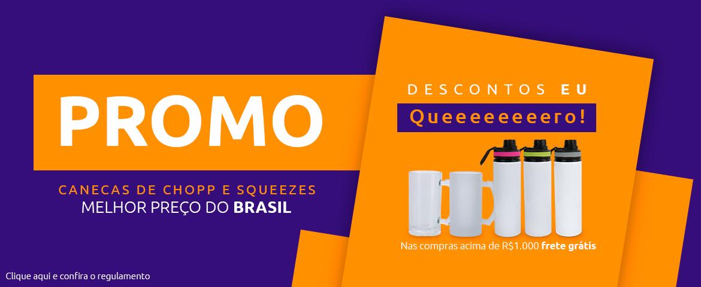 Banner - Promo Canecas e Squeezes