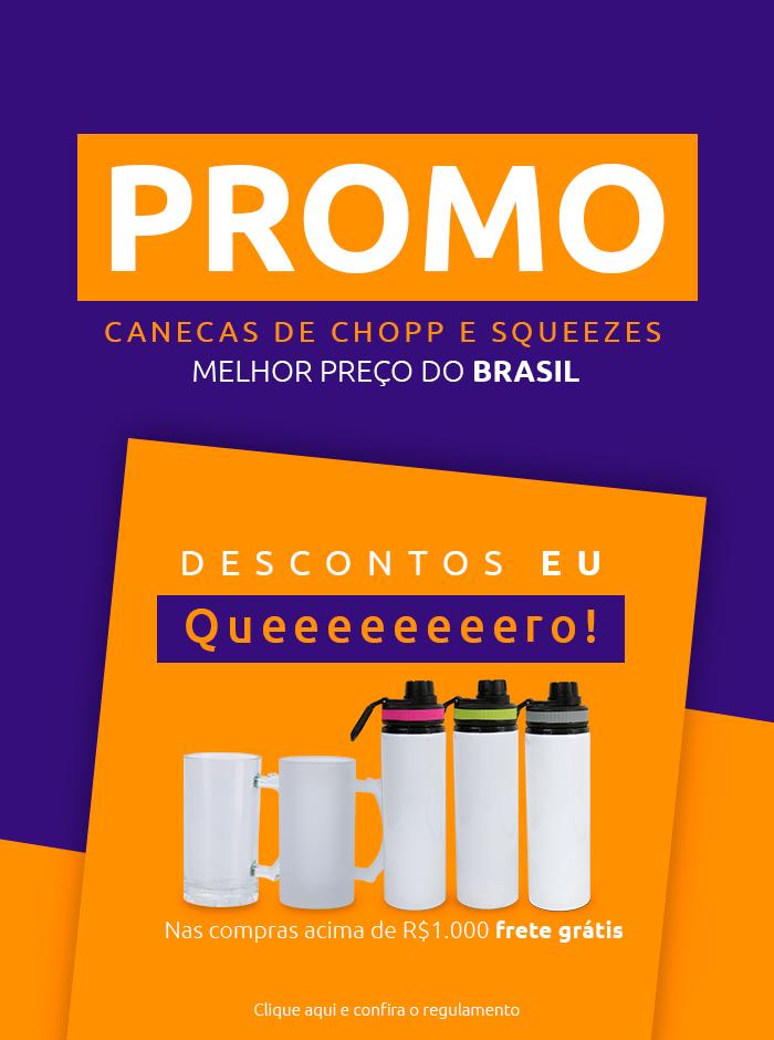 Banner Mobile - Promo Canecas e Squeezes