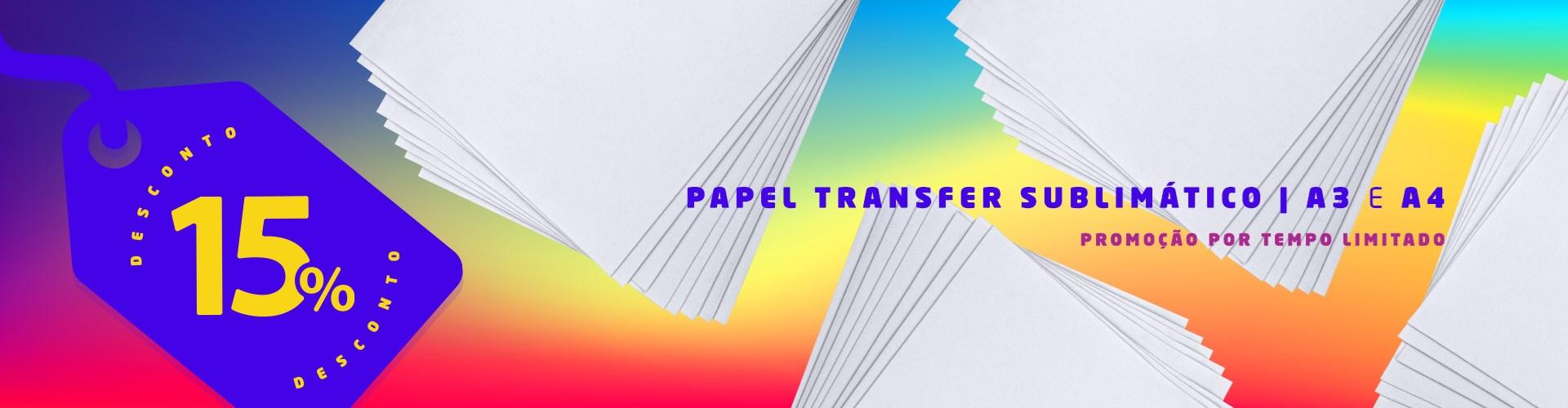 Promoção - Papel Transfer