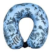 Almofada De Pescoço Para Viagem Azul