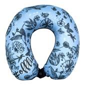 Almofada para Pescoço Be Happy Azul - Enchimento Nasa