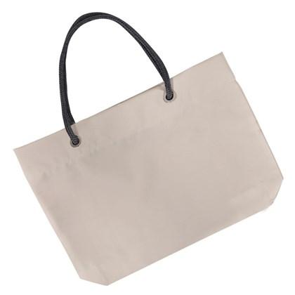 Bolsa Cáqui Com Alça De Corda