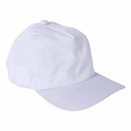 Boné Para Sublimação Branco Com Aba (Com 10 unidades)