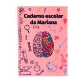 Caderno Pequeno Capa Pet 60 Folhas C/ Espiral