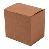 Caixa Para Caneca Cerâmica - 117x85x106mm - Papel Reciclado (c/ 36 pc)
