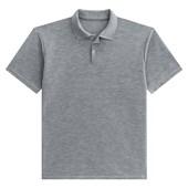 Camisa polo poliéster para sublimação mescla