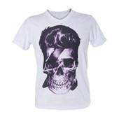 Camiseta Gola V Feminina Flame