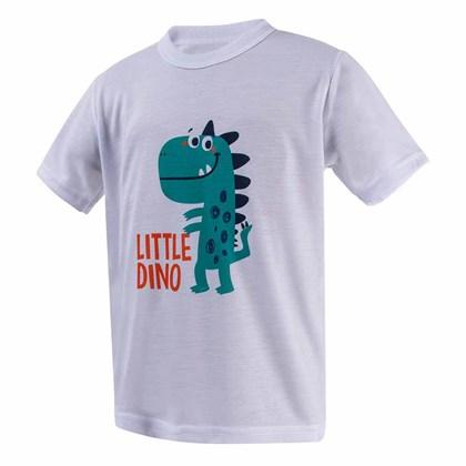 Camiseta Infantil Poliéster Branca Para Sublimação 2