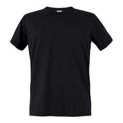 Camiseta Masculina Poliéster Preta