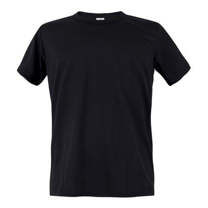 Camiseta Para Sublimação em Poliéster Preta (Com 5 unidades)