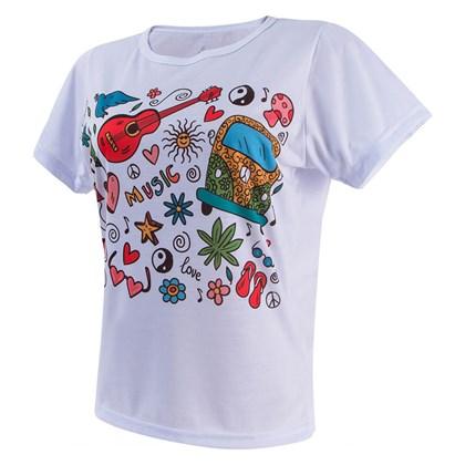 Camiseta Poliéster - Feminina (Baby Look)