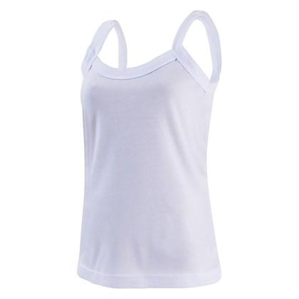 Camiseta Regata Poliéster - Feminina C/ Elastano