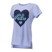 Camiseta T-shirt Feminina  Azul Serenity Para Sublimação (Com 5 unidades)