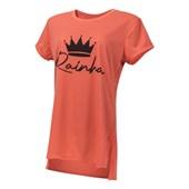 Camiseta T-shirt Feminina Coral Living Para Sublimação - P