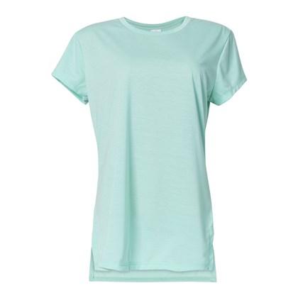 Camiseta T-shirt Feminina Ice Green Para sublimação (Com 5 unidades)