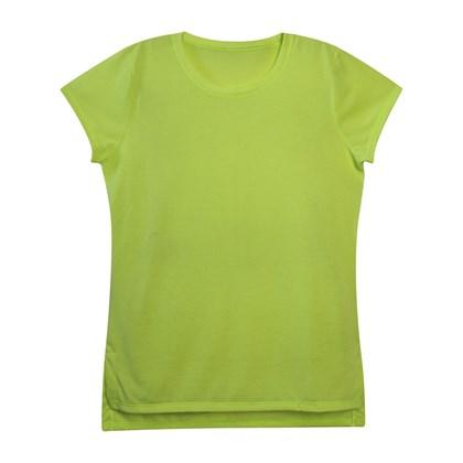 Camiseta Verde Neon T-shirt (Com 5 unidades)