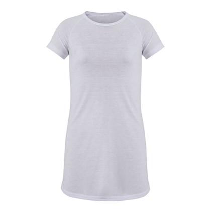 Camisola Para Sublimação de Poliéster Adulto Branca EG