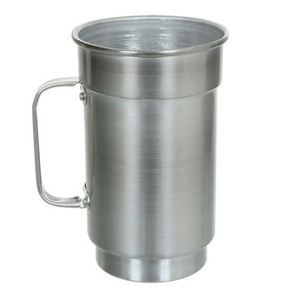 Caneca De Chopp De Aluminio - Natural (Com 12 unidades)