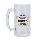 Caneca De Chopp De Vidro 475ml (c/ 2 pc)