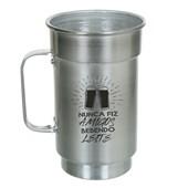 Caneca De Chopp Para Sublimação De Aluminio - Natural (Com 12 unidades)