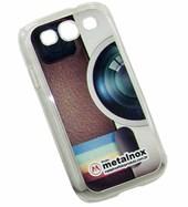 Capa Celular Galaxy S3 Plástico Transparente