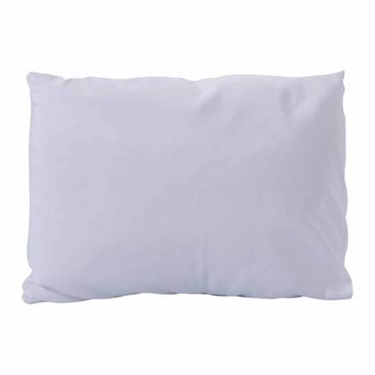 Capa com Fibra Almofada Para Sublimação Slim - Branca (Com 6 unidades)