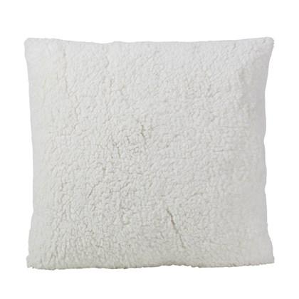 Capa De Almofada Com Pelucia Para Sublimação - Branca  (Com 6 unidades)