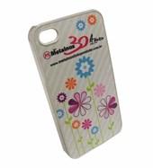 Capa Iphone 4 Plástico Transparente
