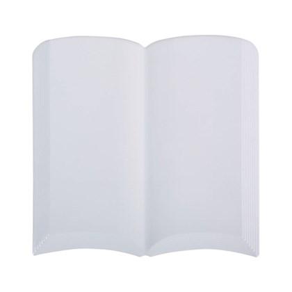 Cerâmica Decorativa Formato Livro com Relevo 11x15cm
