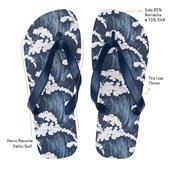 Chinelo Azul Marinho Para Sublimação Masculino