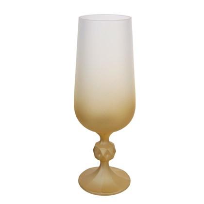 Copo Taça De Cerveja Decorada Para Sublimação Dourada 280ml  (Com 6 unidades)