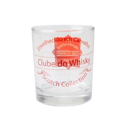 Copo Vidro Transparente Whisky Para Sublimação (c/ 12 pc)