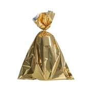 Embalagem Saco Metalizado Dourado 25x37cm (c/ 100 pc)
