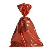 Embalagem Saco Metalizado Vermelho 25x37cm (c/ 50 pc)