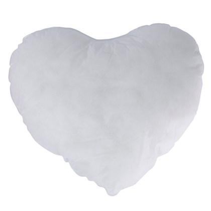 Fibra Para Almofada Coração 100% Poliéster (c/ 6 pc)