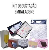 Kit Degustação Embalagens