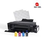 Kit Impr. A3 L1300 C/bulk Ink 110v C/tinta E Papel