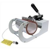 Kit Prensa Térmica para Sublimação Magic Machine A3 com Módulo Cilíndrico e Formas Plana