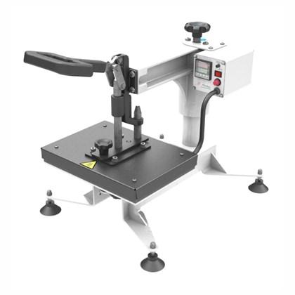 Kit Prensa Térmica para Sublimação Magic Machine A4 com Módulo Cilíndrico e Forma Plana
