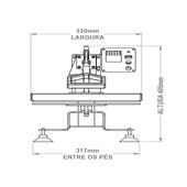 Magic Machine A4 C/ Forma Plana 127v Cmtt-18