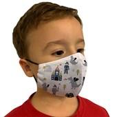 Mascara Anatómica bico De Papagaio Infantil com elastano Rolo (com 5 peças)