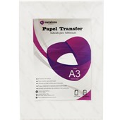Papel Transfer Sublimatico Metalnox Com 100 Folhas