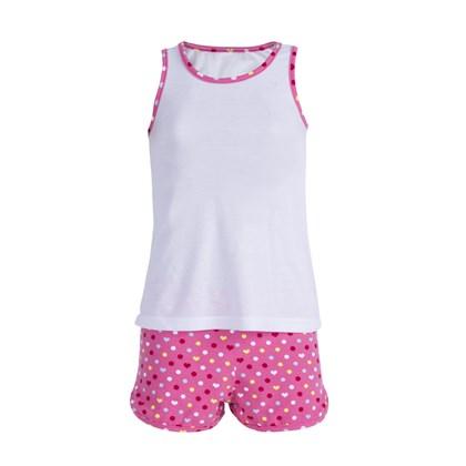Pijama Feminino Infantil Mãe e filha