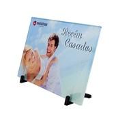 Porta Retrato De Vidro 150x225mm