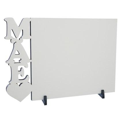 Porta Retrato Mãe em MDF Para Sublimação (Com 5 unidades)