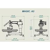 Prensa Magic Machine A4 (23x32cm)