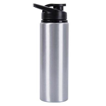 Squeeze Prata Aluminio 750ml