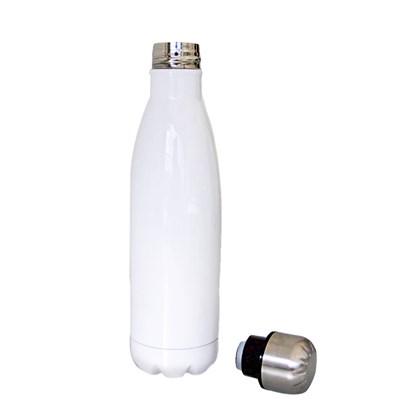 Squeeze Térmica Para Sublimação De Inox Branca 450ml