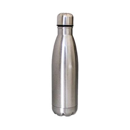 Squeeze Térmica Para Sublimação De Inox Prata 450ml